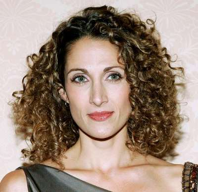 Melina Kankaredes - Brunette, Celebrities, Medium hair styles, Curly hair Hairstyle Picture