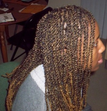 Kinky Twist - Kinky hair, Long hair styles, Braids, Readers, Female, Black hair, Adult hair Hairstyle Picture