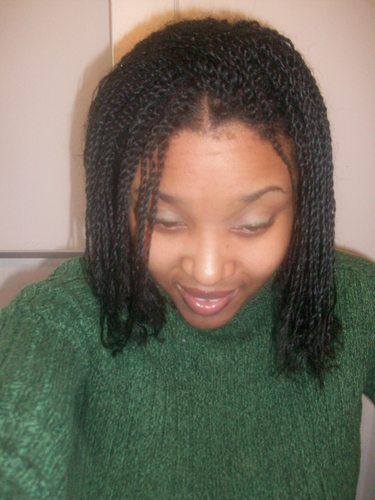 twist - 4a, Medium hair styles, Kinky hair, Long hair styles, Readers, Female, Black hair, Adult hair Hairstyle Picture