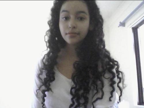 Natural Curls - 3b, Long hair styles, Readers, Styles, Female, Curly hair, Teen hair, Black hair, Adult hair, Spiral curls, Natural Hair Celebration Hairstyle Picture