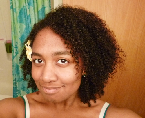 Ready to go out - 3c, 4a, 4b, Medium hair styles, Kinky hair, Readers, Female, Adult hair Hairstyle Picture
