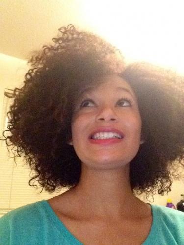 Natural hair - Brunette, 3c, Medium hair styles, Female, Curly hair, Teen hair, Adult hair Hairstyle Picture