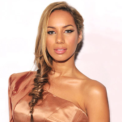Leona Lewis - Blonde, Celebrities, Medium hair styles, Long hair styles, Braids, Female, Curly hair Hairstyle Picture