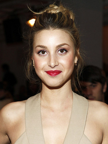 Whitney Port - Blonde, Celebrities, Wavy hair, Medium hair styles, Updos, Long hair styles, Female, Buns Hairstyle Picture