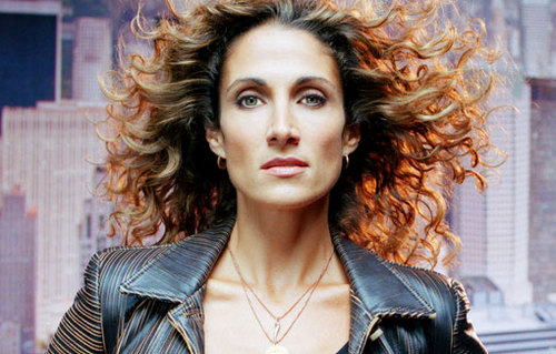 Melina Kanakaredes - Brunette, 3a, Celebrities, Long hair styles, Adult hair Hairstyle Picture