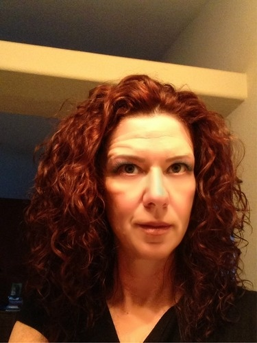 Second Day Curls - Redhead, 3b, 3a, Medium hair styles, Readers, Female, Curly hair, Adult hair, Spiral curls Hairstyle Picture