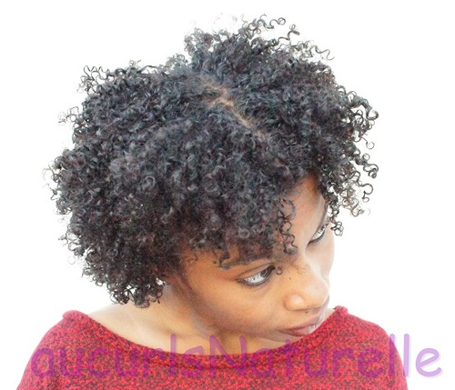 My Wash n Go  - 3c, 4a, Short hair styles, Readers, Adult hair Hairstyle Picture