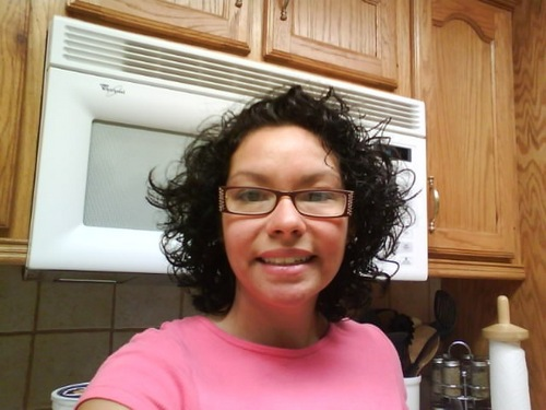 Me, 05.12.09 - Brunette, 3b, 3a, Short hair styles, Medium hair styles, Readers, Female, Curly hair, Adult hair, Layered hairstyles, Natural Hair Celebration Hairstyle Picture