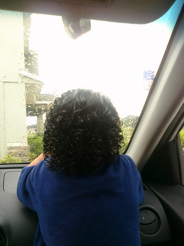 Anthony the back of his head - Brunette, Male, Short hair styles, Kids hair, Readers, Curly hair, Spiral curls Hairstyle Picture