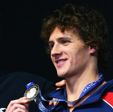 Ryan Lochte - Brunette, Celebrities, Wavy hair, Male, Short hair styles Hairstyle Picture