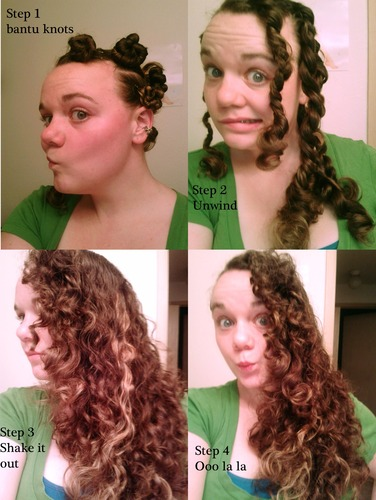 Sleek Waves from Bantu Knots - Brunette, 3b, 3a, 3c, Wavy hair, Long hair styles, Female, Adult hair, Bantu knots, Bantu knot out Hairstyle Picture