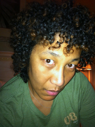 A different view - 3b, 3c, Medium hair styles, Female, Adult hair, Spiral curls Hairstyle Picture