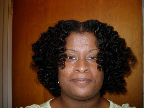 JoyCurl Bantu Knot Out - 4a, 4b, Medium hair styles, Kinky hair, Readers, Styles, Female, Black hair, Adult hair, Bantu knot out, Curly kinky hair, Natural Hair Celebration Hairstyle Picture