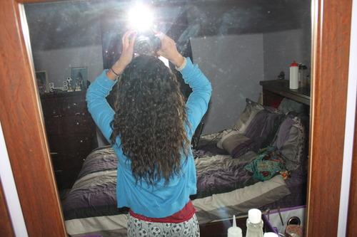 My Hair Is Growing!! - Brunette, 3a, Long hair styles, Readers, Female, Teen hair Hairstyle Picture