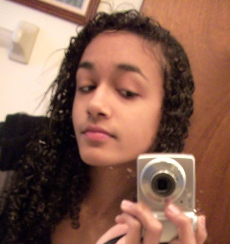 Naturall:) - Brunette, 3c, Medium hair styles, Long hair styles, Readers, Styles, Female, Curly hair, Teen hair, Black hair, Spiral curls Hairstyle Picture