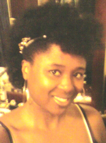 1st FroHawk - Brunette, 3c, Short hair styles, Kinky hair, Readers, Female Hairstyle Picture