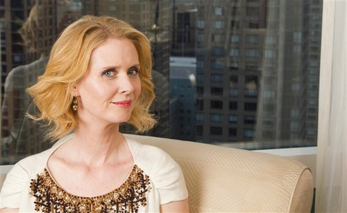 Cynthia Nixon - 2a, Redhead, Blonde, Celebrities, Wavy hair, Medium hair styles, Female, Adult hair Hairstyle Picture