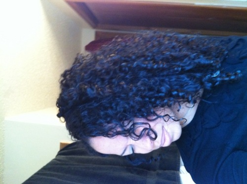 Before devacurl cut Nov.'11& - 3c, Medium hair styles, Readers, Female, Black hair, Adult hair Hairstyle Picture