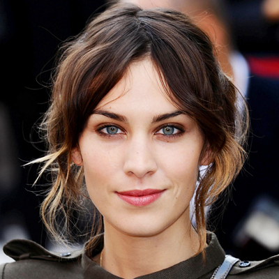 Alexa Chung - Brunette, Celebrities, Wavy hair, Medium hair styles, Long hair styles, Female Hairstyle Picture
