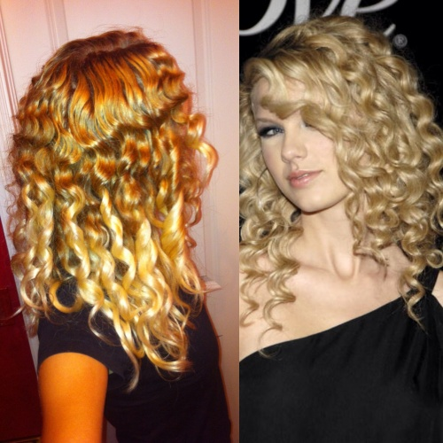 Taylor Swift Twin - 3a, Celebrities, Wavy hair, Readers, Curly hair, 2c Hairstyle Picture
