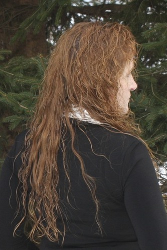 Red, long, and very curly! - Redhead, 3c, Long hair styles, Readers, Female, Curly hair, Adult hair Hairstyle Picture