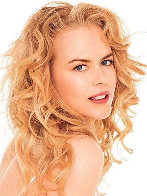 Nicole Kidman - Redhead, Blonde, 3a, Celebrities, Medium hair styles, Long hair styles, Female, Curly hair, Adult hair Hairstyle Picture