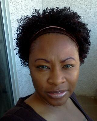 MY WASH N GO - 4a, Celebrities, Medium hair styles, Readers, Female, Black hair, Adult hair, Kinky twists Hairstyle Picture
