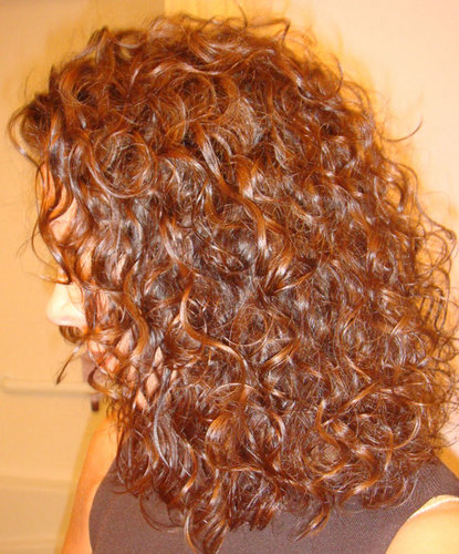 ItsNotAPerm - Brunette, 3a, Medium hair styles, Readers, Curly hair, Adult hair, Spiral curls Hairstyle Picture