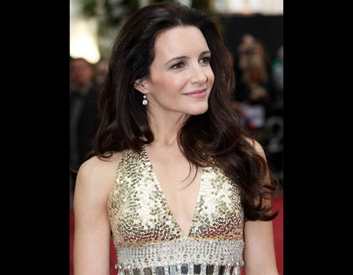 Kristin Davis - Brunette, Celebrities, Wavy hair, Long hair styles, Female, Straight hair Hairstyle Picture