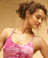 Curly Exercise Style - Brunette, 3a, Medium hair styles, Updos, Styles, Female Hairstyle Picture