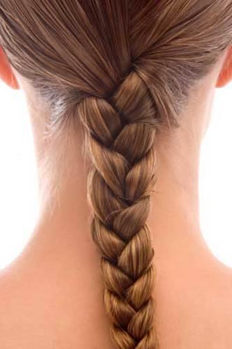 A braid - Brunette, Long hair styles, Braids, Styles, Female, Teen hair, Straight hair Hairstyle Picture