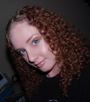 Curl Luv'N - Redhead, 3b, Medium hair styles, Readers, Female, Curly hair Hairstyle Picture