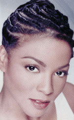 Flat Twists - Brunette, Styles, Female, Black hair, Adult hair, Flat twists Hairstyle Picture