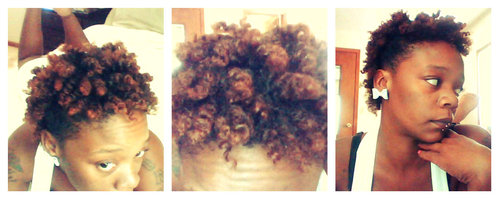 The infamous Twistout - Redhead, 4a, 4b, Short hair styles, Readers, Female, Teen hair, Adult hair Hairstyle Picture