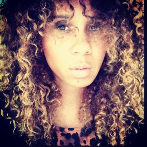 Smokey - Brunette, Blonde, Celebrities, Medium hair styles, Readers, Female, Curly hair, Adult hair, Pin curls, Spiral curls Hairstyle Picture