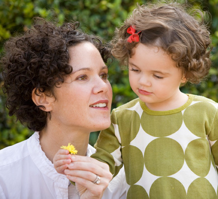 Picking flowers with Maddie - Brunette, Mom's Day, 2b, Wavy hair, Short hair styles, Kids hair, Readers, Female, Curly hair Hairstyle Picture