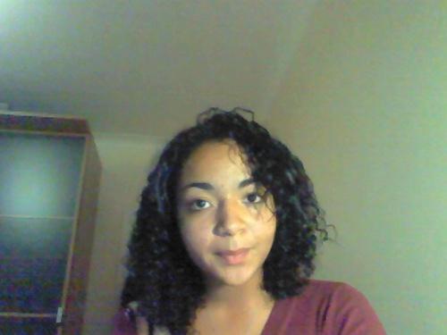 Just a snapshot - 3b, Wavy hair, Medium hair styles, Readers, Female, Curly hair, Black hair Hairstyle Picture