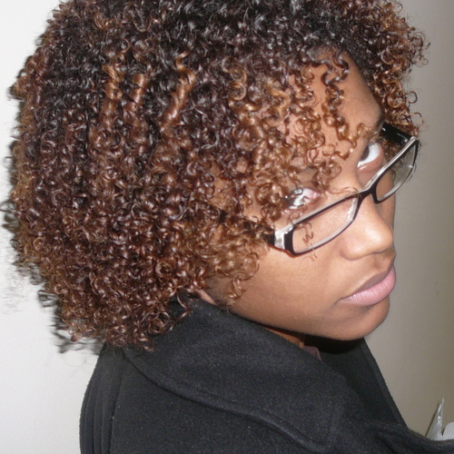 all natural - Brunette, 3c, 4a, Short hair styles, Readers, Female, Curly hair Hairstyle Picture