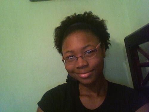 Small puff style - 4a, Short hair styles, Kinky hair, Styles, Female, Black hair, Adult hair Hairstyle Picture