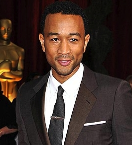 John Legend - Brunette, 3c, Celebrities, Male, Very short hair styles, Afro, 2009 Academy Awards Hairstyle Picture