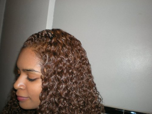 Ramen Noodle Curls  - Brunette, 3c, Medium hair styles, Long hair styles, Readers, Female Hairstyle Picture