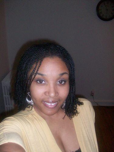twist - Medium hair styles, Twist hairstyles, Readers, Styles, Female, Curly hair, Black hair, Adult hair Hairstyle Picture