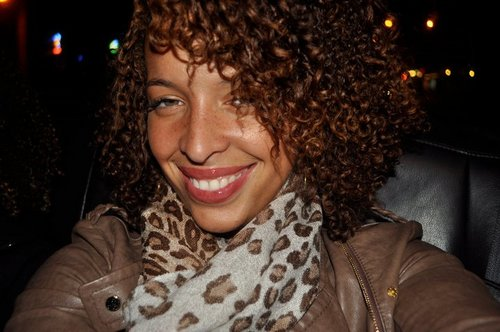 Animal Print Curls - Brunette, 3c, 4a, Medium hair styles, Kinky hair, Readers, Female, Curly hair, Adult hair, Spiral curls, Curly kinky hair, Textured Tales from the Street Hairstyle Picture