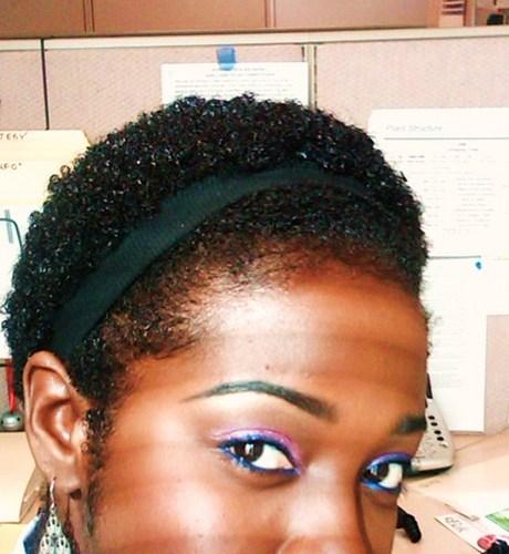 TWA PUFF - Brunette, Very short hair styles, Short hair styles, Kinky hair, Readers, Female, Black hair, Teeny weeny afro Hairstyle Picture