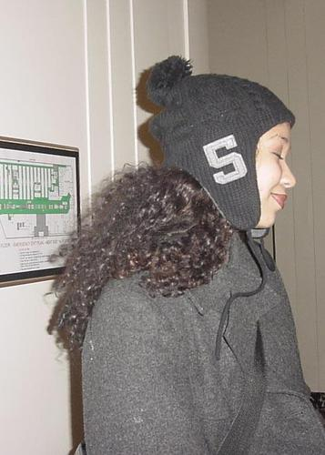 WINTER TIME IN CHICAGO! - 3b, 3c, Kinky hair, Long hair styles, Readers, Female, Curly hair, Black hair, Adult hair, Natural Hair Celebration, 2010 Holiday Photos Hairstyle Picture