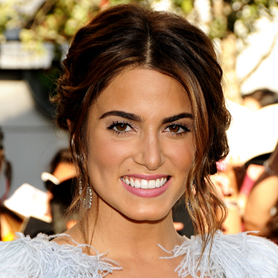 Nikki Reed - Brunette, Celebrities, Wavy hair, Medium hair styles, Updos, Long hair styles, Female Hairstyle Picture