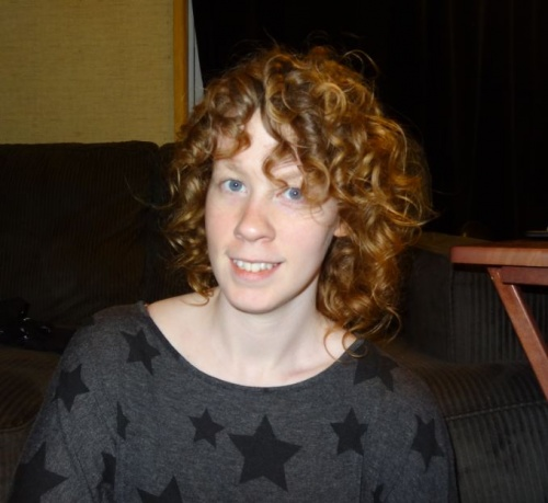 almost a good hair day - Redhead, Brunette, 3a, Short hair styles, Readers, Female, Makeovers, Adult hair Hairstyle Picture