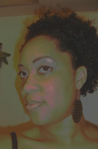 Twist Out - Brunette, 3c, Short hair styles, Female, Adult hair, Twist out Hairstyle Picture