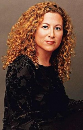 Jodi Picoult - Redhead, 3b, Celebrities, Medium hair styles, Female, Curly hair Hairstyle Picture