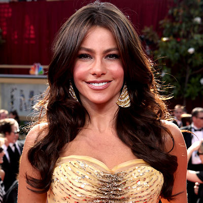 Sofia Vergara - Brunette, Celebrities, Wavy hair, Long hair styles, Female, Curly hair Hairstyle Picture